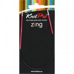 Knitpro Zing 25 cm Rondbreinaaldjes - Sokkennaaldjes - 2.0