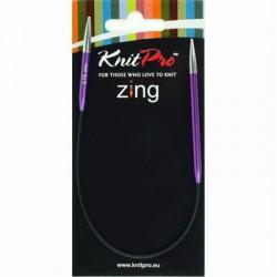 Knitpro Zing 25 cm Rondbreinaaldjes - Sokkennaaldjes - 3.75