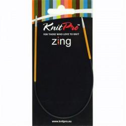 Knitpro Zing 25 cm Rondbreinaaldjes - Sokkennaaldjes - 2.25
