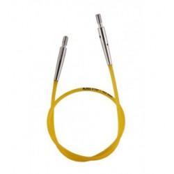 KnitPro kabel 40 cm (geel)