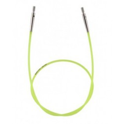 KnitPro kabel 60 cm (neon geel)