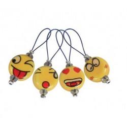 KnitPro Steekmarkeerders Smileys