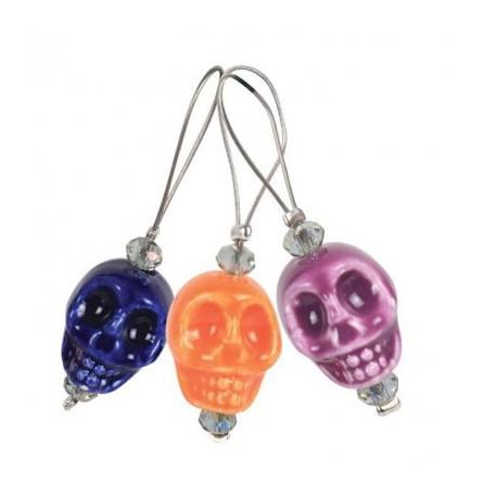 KnitPro Steekmarkeerders Skull Candy