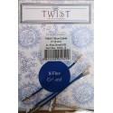 Chiaogoo Twist Blue kabel X-Flex Small - 5 cm