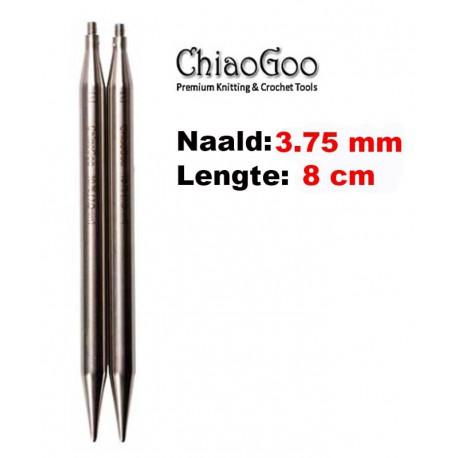 Chiaogoo Verwisselbare Naaldpunten 3.75 - Twist Red Lace Small (8 cm)