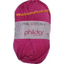 Phildar Phil Coton 4 - 0036 Fuchsia -- OP is OP --