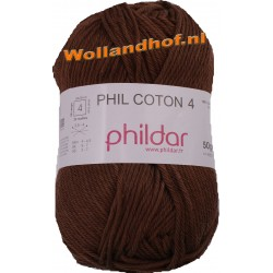 Phildar Phil Coton 4 - 0001 Rosee