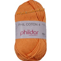 Phildar Phil Coton 4 - 0070 Melon -- OP is OP --