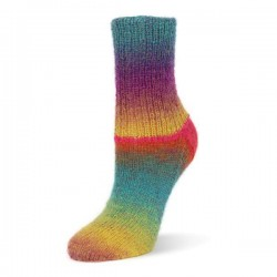 Rellana Flotte Socke Kolibri kleur 6214