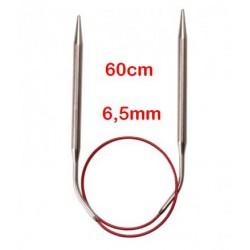 Chiaogoo Rondbreinaald Knit Red 60 cm - 6.5 mm