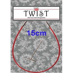 Chiaogoo Twist Red kabel Mini - 15 cm