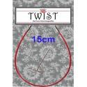 Chiaogoo Twist Red kabel Mini - 15 cm