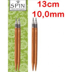 Chiaogoo Verwisselbare Naaldpunten 10.0 - Spin Bamboe Large (13 cm)
