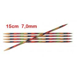 KnitPro Symfonie sokkennaalden 15 cm 7,00 mm