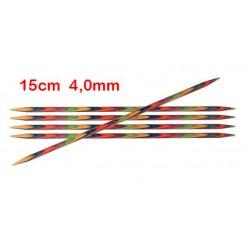 KnitPro Symfonie sokkennaalden 15 cm 4,0 mm