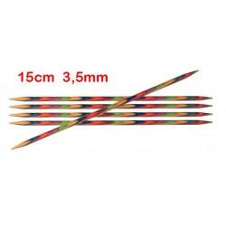 KnitPro Symfonie sokkennaalden 15 cm 3,50 mm