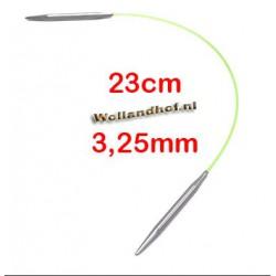 HiyaHiya Steel rondbreinaald 23 cm - 3.25 mm