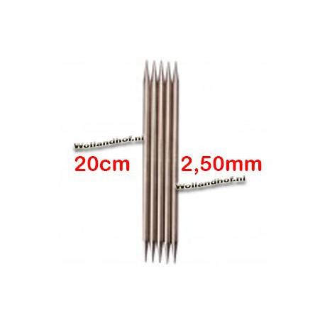 Chiaogoo Sokkennaalden - DPNs 20 cm - 2.5 mm