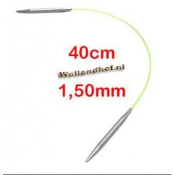 HiyaHiya Steel rondbreinaald 40 cm - 1.50 mm