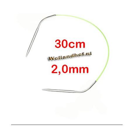 HiyaHiya Steel rondbreinaald 30 cm - 2.0 mm