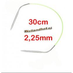 HiyaHiya Steel rondbreinaald 30 cm - 2.25 mm