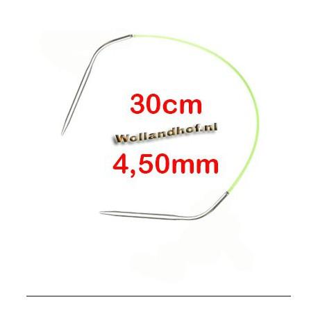 HiyaHiya Steel rondbreinaald 30 cm - 4.5 mm