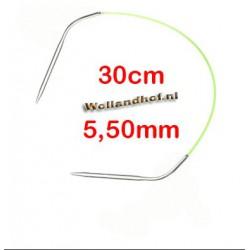 HiyaHiya Steel rondbreinaald 30 cm - 5.5 mm