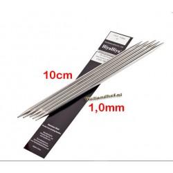 HiyaHiya Steel Sokkennaalden 10 cm - 1.0 mm