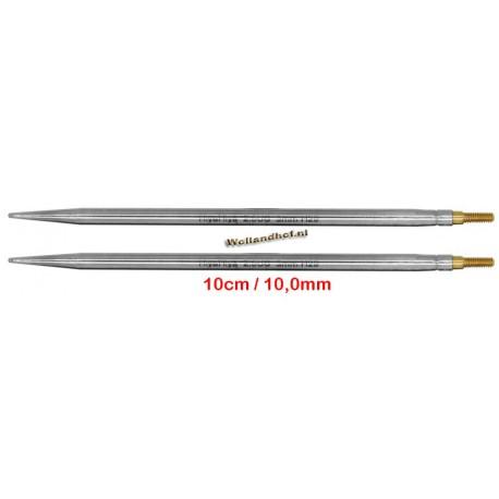 HiyaHiya Steel 10 cm - 10.0 mm - verwisselbare naaldpunten-tips