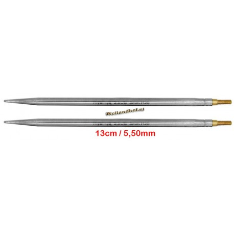 HiyaHiya Steel 13 cm - 5.50 mm - verwisselbare Large naaldpunten-tips