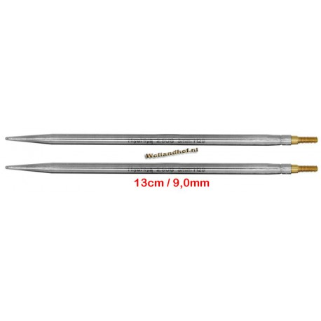 HiyaHiya Steel 13 cm - 9.0 mm - verwisselbare Large naaldpunten-tips