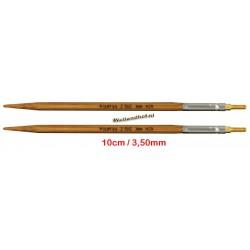 HiyaHiya Bamboe 10 cm - 3.5 mm - verwisselbare Small naaldpunten-tips