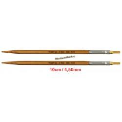 HiyaHiya Bamboe 10 cm - 4.5 mm - verwisselbare Small naaldpunten-tips