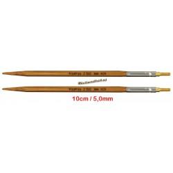 HiyaHiya Bamboe 10 cm - 5.0 mm - verwisselbare Small naaldpunten-tips