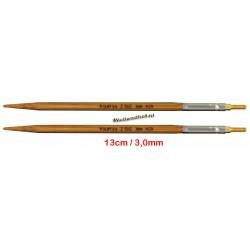 HiyaHiya Bamboe 13 cm - 3.0 mm - verwisselbare Small naaldpunten-tips