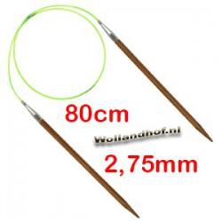 HiyaHiya Bamboe rondbreinaald 80 cm - 2.75 mm