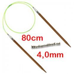 HiyaHiya Bamboe rondbreinaald 80 cm - 4.0 mm