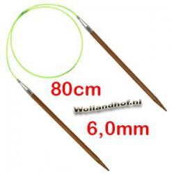 HiyaHiya Bamboe rondbreinaald 80 cm - 6.0 mm