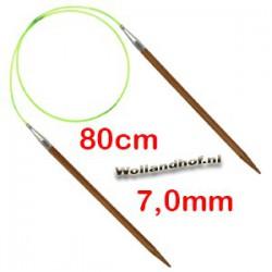 HiyaHiya Bamboe rondbreinaald 80 cm - 7.0 mm
