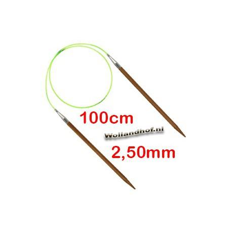 HiyaHiya Bamboe rondbreinaald 100 cm - 2.50 mm