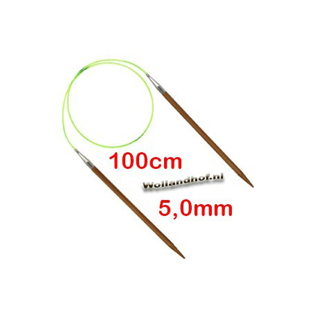 HiyaHiya Bamboe rondbreinaald 100 cm - 5.0 mm