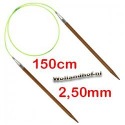 HiyaHiya Bamboe rondbreinaald 150 cm - 2.50 mm
