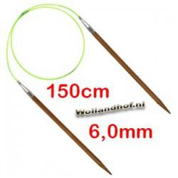 HiyaHiya Bamboe rondbreinaald 150 cm - 6.0 mm