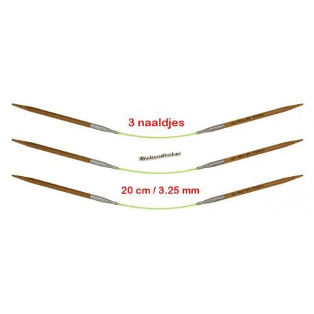 HiyaHiya Bamboe 20 cm - 3.25 mm - Fixed Flyers