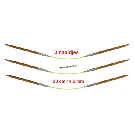 HiyaHiya Bamboe 20 cm - 4.0 mm - Fixed Flyers