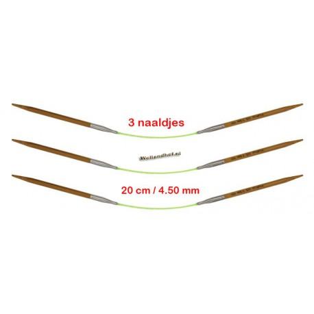 HiyaHiya Bamboe 20 cm - 4.5 mm - Fixed Flyers