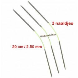 HiyaHiya Steel 20 cm - 2.5 mm - Fixed Flyers