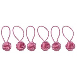 HiyaHiya Steekmarkeerders - Yarn Ball Pink
