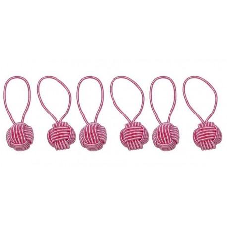 HiyaHiya Steekmarkeerders - Yarn Ball Pink