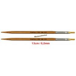 HiyaHiya Bamboe 13 cm - 6.0 mm - verwisselbare Large naaldpunten-tips